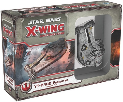 Star Wars X-Wing YT-2400 Freighter Expansion Pack