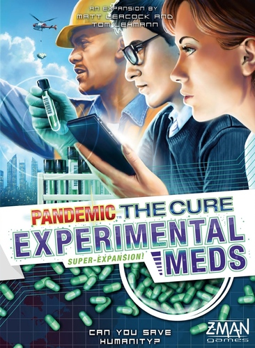 Pandemic: The Cure- Experimental Meds