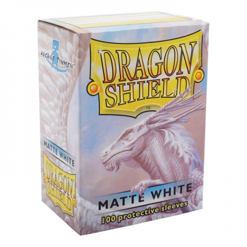 Dragon Shield Matte White