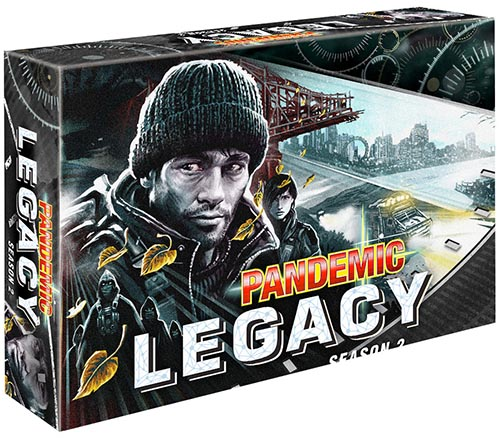 Pandemic Legacy: Season 2 Black Box