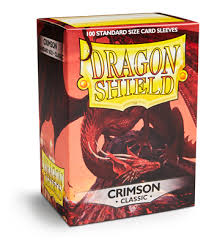 Dragon Shield Standard Classic Crimson