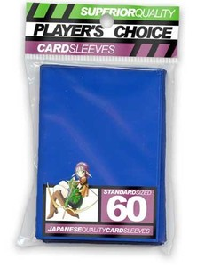 Player's Choice Blue Standard Trading Card Sleeves