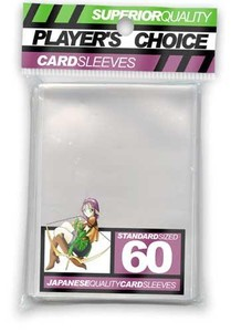 Player's Choice Clear Standard Trading Card Sleeves