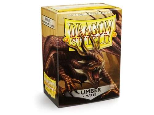 Dragon Shield 100 Matte Umber Card Sleeves