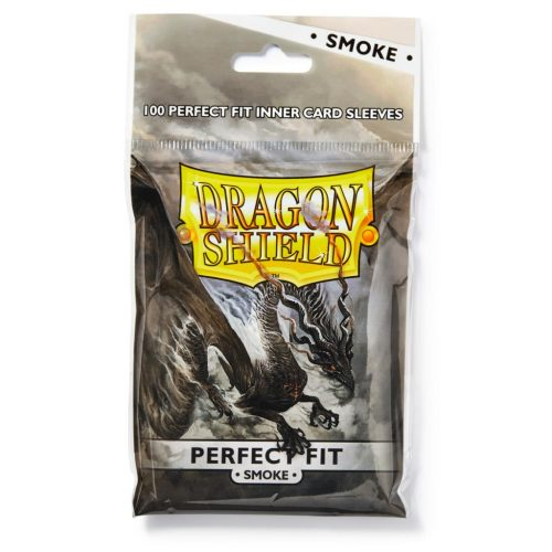 Dragon Shield Perfect Fit Sleeves Smoke