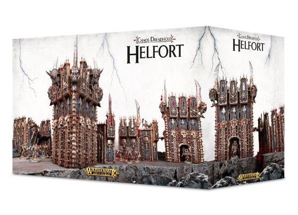 Warhammer Age of Sigmar Chaos Dreadhold Helfort