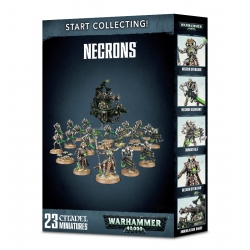 Warhammer 40,000 Start Collecting Necrons 2018