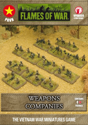 Flames of War PAVN Weapons Companies