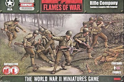Flames of War UBX03 USA Rifle Company