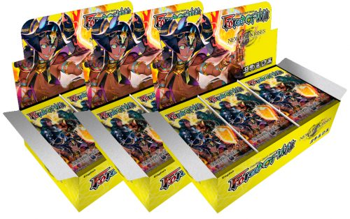 Force of Will New Dawn Rises Booster Box x3