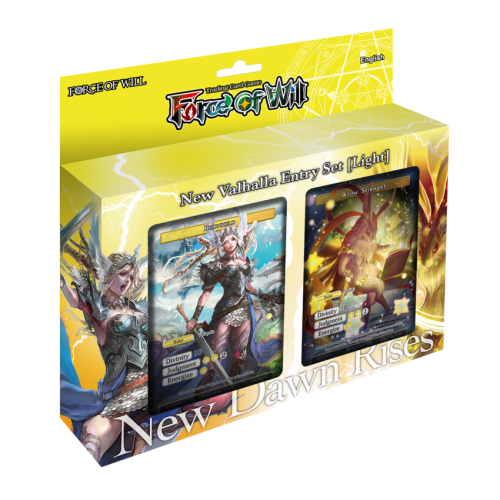 Force of Will New Valhalla Cluster Starter Deck Light