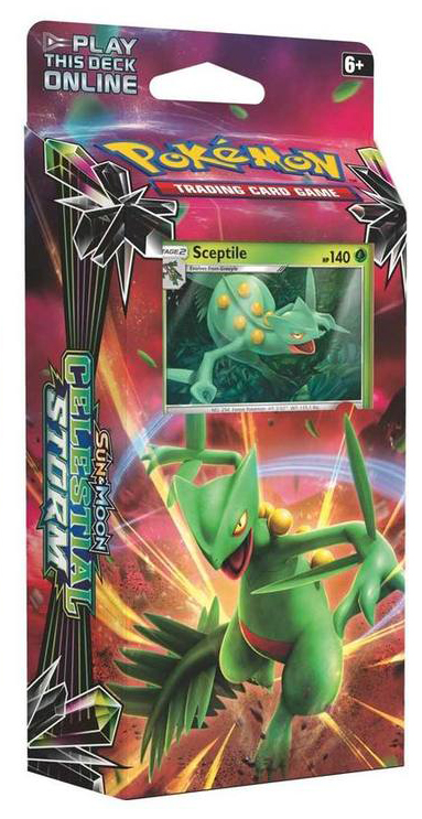 Pokemon Celestial Storm Theme Deck Hydro Fury