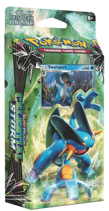 Pokemon Celestial Storm Theme Deck Leaf Charge