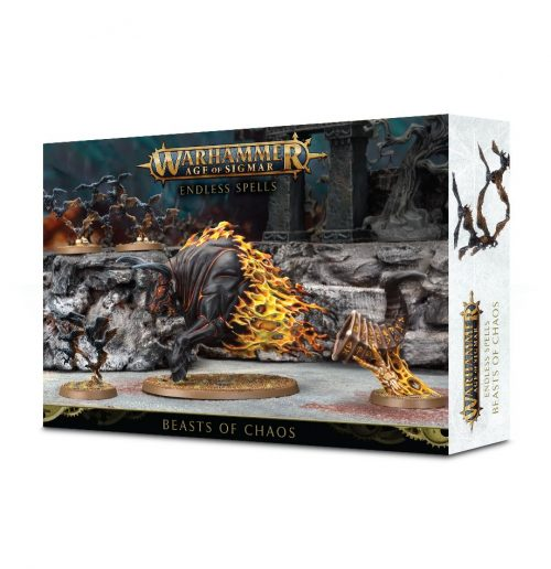 Warhammer Age of Sigmar Endless Spells Beasts of Chaos