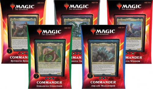 Commander 2020 Set of 5